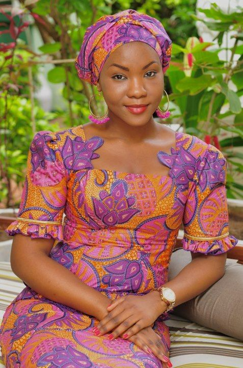 majestic! ~African Prints, African women dresses, African fashion styles, african clothing