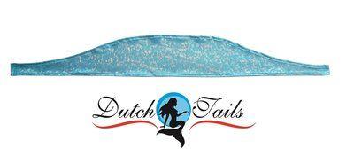Dutch Tails Sparkel topje blauw. One size fits all.
