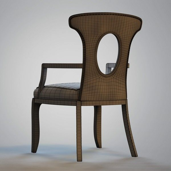 Barbara Barry   Graceful Chair Model Available On Turbo Squid, The Worldu0027s  Leading Provider Of Digital Models For Visualization, Films, Television, ...