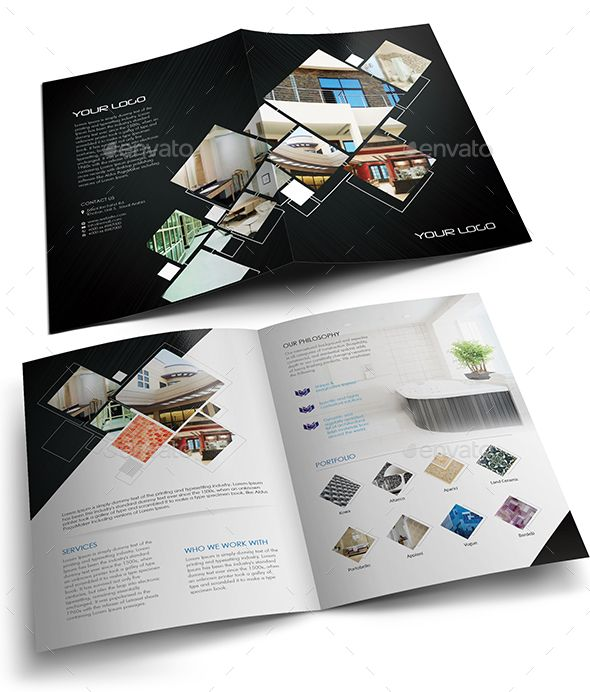 Best 10+ Bi Fold Brochure Ideas On Pinterest | Corporate Brochure