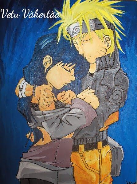 Naruto and Hinata painting