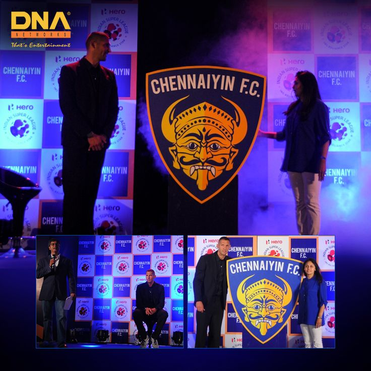 A lavish logo launch for ChennaiyinFC .  #ChennaiyinFC   #Chennai   #ISL  #Football
