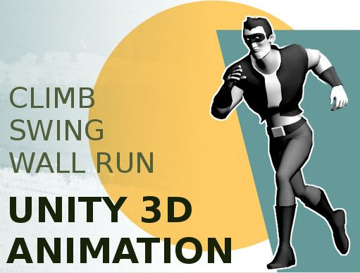 Heroic Traversal - Unity Game Asset. This package contains a set of over 100 professionally animated actions for traversing with weight, power and style. -Strafe (walk and jog speed only)  -Climb in any direction  -Swing on ledges  -Wall Run  -Leap, combat roll, parkour slide, and numerous transitions required for seamless, fluid action  -FBX animation using Mecanim humanoid format