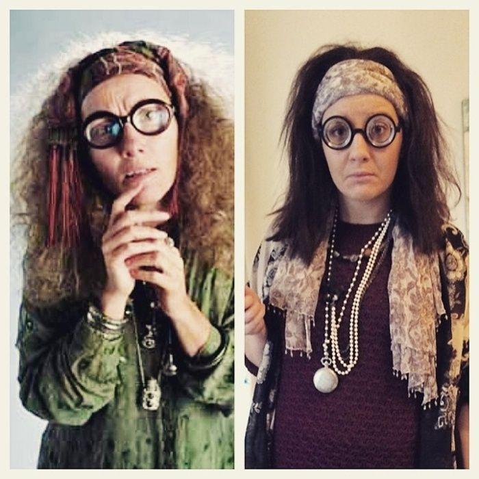 Lauren Cook as professor Trelawney