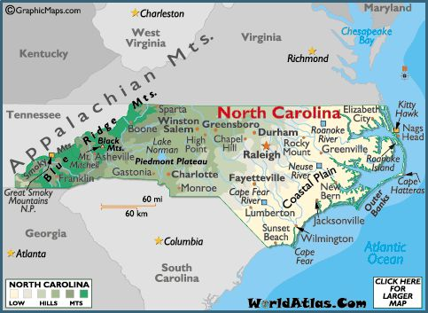 Best North Carolina Capital Ideas On Pinterest North - Maps of north carolina cities