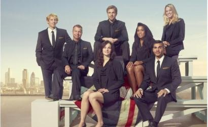 High street fashion chain Next has unveiled its collection of formalwear for Team GB, modelled by Olympic hopefuls. rower Andy Triggs-Hodge, swimmers Keri-Anne Payne and Jenna Randall, fencer Lawrence Halstead, gymnast Louis Smith, and dressage rider Lee Pearson have posed for images showcasing the collection which includes navy, tailored suits with gold detailing and lace-up shoes for men and courts for women. Each jacket collar is embroidered with the team motto.