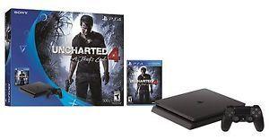 ❤◕ PlayStation-4-Slim-500GB-Console-Uncharted-4-Bundle-Console-One-Controller eBay http://ebay.to/2fffIWZ