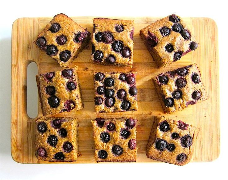 Berry, Date, and Super Seed Snack Cake