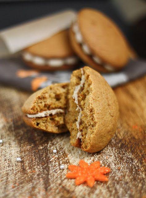 Sweet Potato Whoopie Pies with Maple Marshmallow Creme