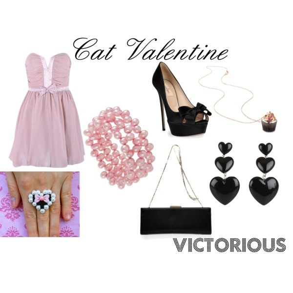 Victorious Cat Valentine, created by allilovez on Polyvore