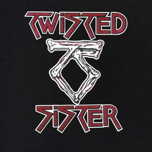 Twisted Sister Band Logo Shirt
