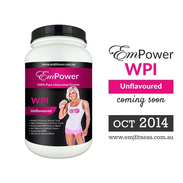 EmPower Protein by EMJ! high quality WPI hydrolyzed protein