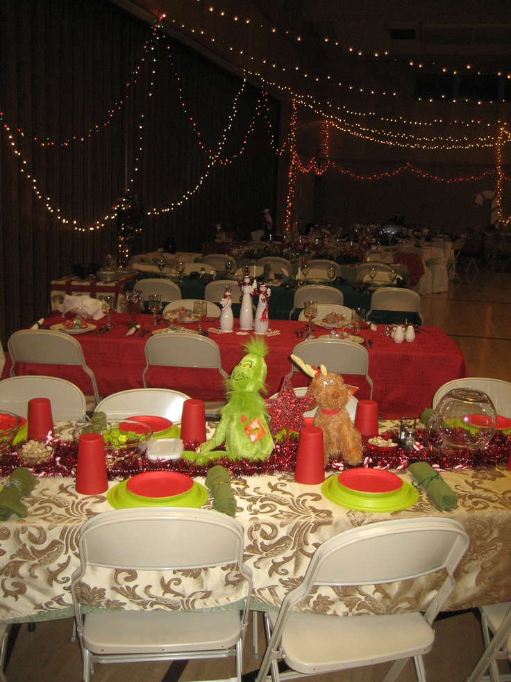 1000+ images about Relief Society Christmas Dinner Ideas  ~ 152917_Decorating Ideas For Church Christmas Party