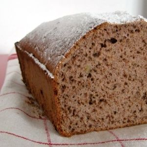 Perníkový chlebíček z pohankové mouky