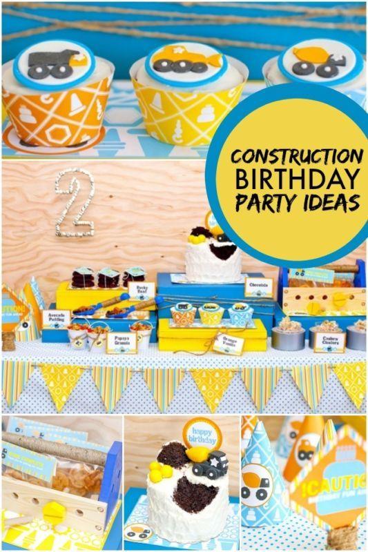 Construction Birthday Party Ideas | eBay