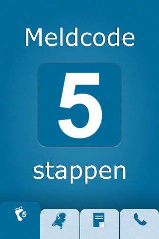 App Meldcode Deze app helpt professionals in te grijpen bij vermoedens van huiselijk geweld en kindermishandeling.