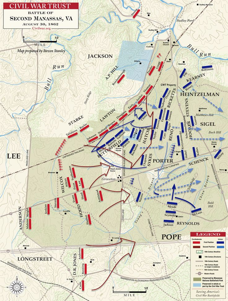 an overview of the second battle of bull run in the civil war of the united states Second battle of bull run-manassas the civil war (1861-1865) were fought near manassas junction during the american civil war the first was in july 1861, and the second was from august 29-30, 1862 united states united states.