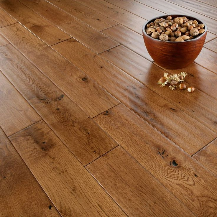 Tuscan Golden Oak Solid Wood Flooring