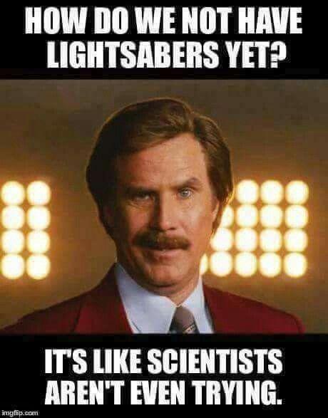I would finance a light saber