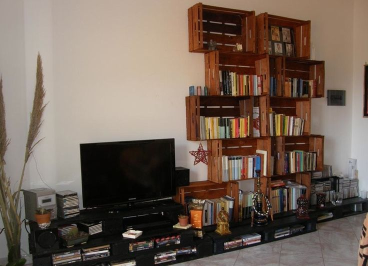 Oltre 1000 idee su libreria per la camera da letto su pinterest tende oscuranti scaffali per - Camera da letto con libreria ...