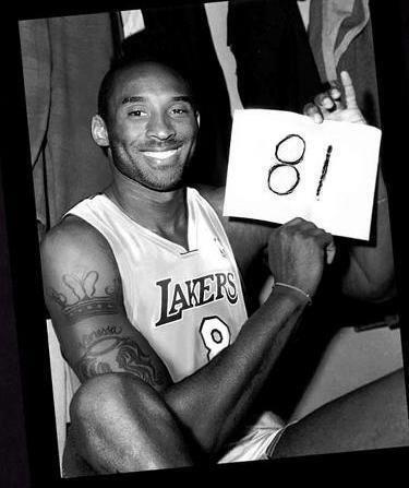 Kobe 81 pts vs Raptors