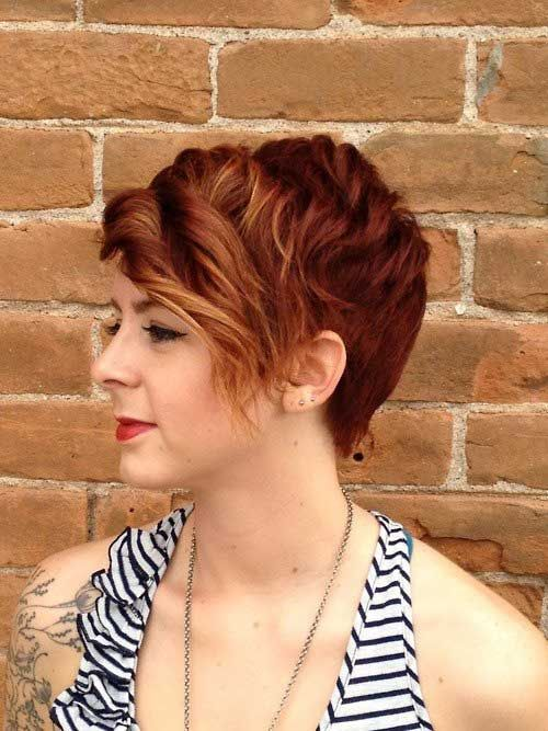 long curly pixie cut - Google Search