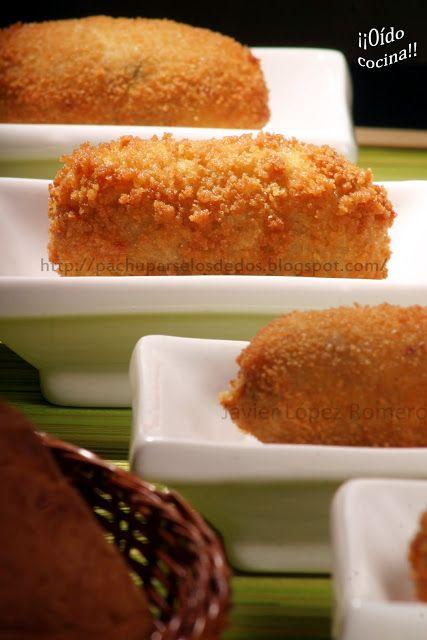 ¡¡Oído cocina!!: Croquetas de queso y pistachos