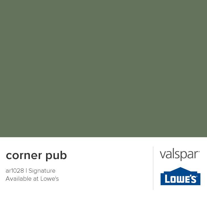 Corner Pub From Valspar My House Pinterest Corner Pub Valspar And Exterior House Colors