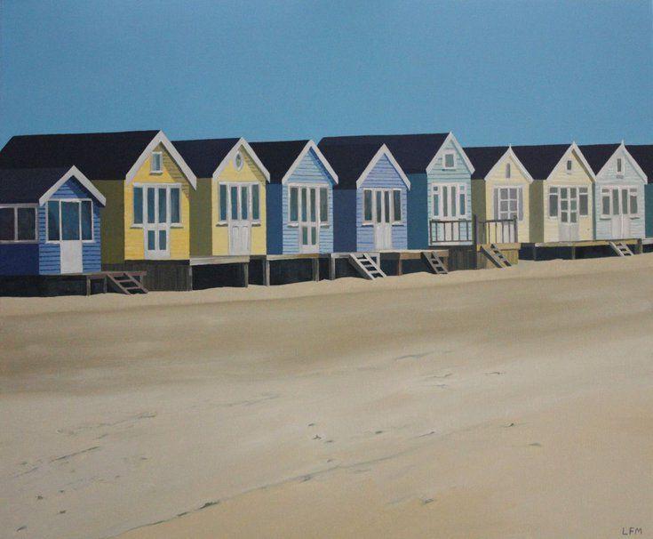 "beachhut Prints   x 4 seagull Beach in mounts  6/"" x 6/"" mounts"