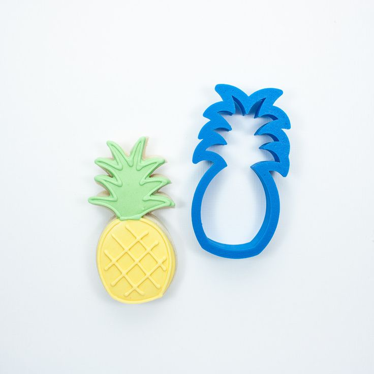 Pineapple Cookie Cutter Frosted.co