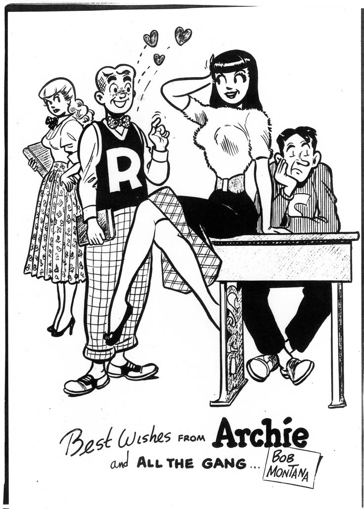 betty and veronica coloring pages - photo#18