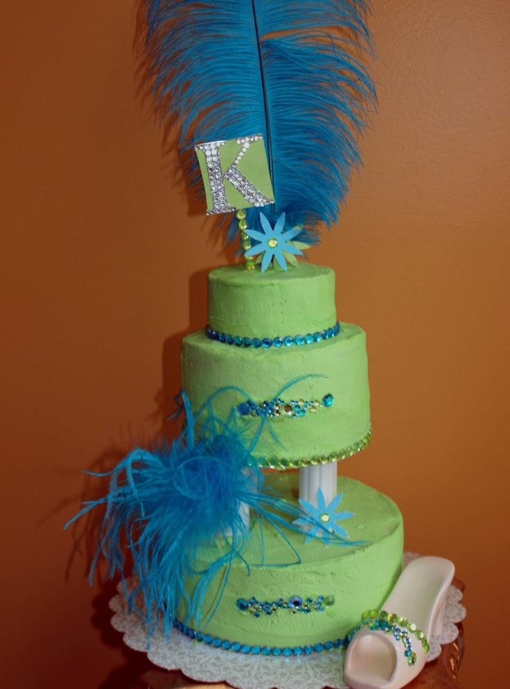 11 Yr Old Birthday Cakes Tall Tier Birthday Cake