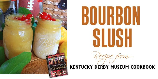 Bourbon slush | Make mine a double | Pinterest