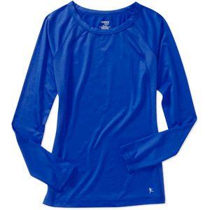 Danskin Now Women s Performance Long Sleeve Tee #1: f15d2b641de2d22b3ba67a686