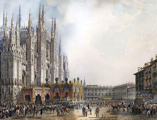 Alessandro-Sanquirico-design-for-crowning-of-Ferdinando-I-of-Austria