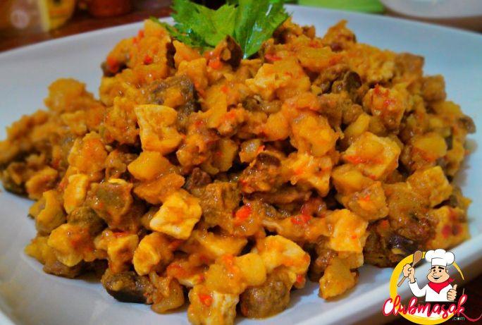 Resep Hidangan Lauk Sambal Goreng Hati, Club Masak