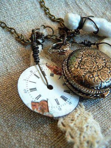 die amelie - Vintage'owy naszyjnik / Vintage necklace