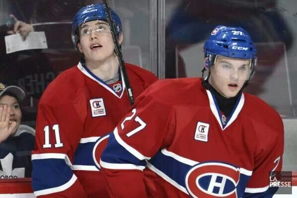 The future looks bright in Montreal. Brenden Gallagher and Alex Galchenyuk.