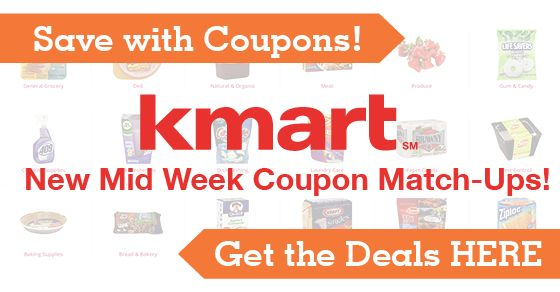 Still time left to Double Coupons this week at Kmart!  Lots of deals left for you to snag!  $0.50 Kellogg's Pop Tarts or Keebler Crackers, Soft Lips Cube for $1.19, $3.99 Tide, and more!