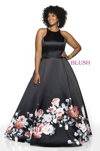 486a1dbca97 Ball Gowns - Pink by Blush Prom Too - Plus Size Style 11136ZW
