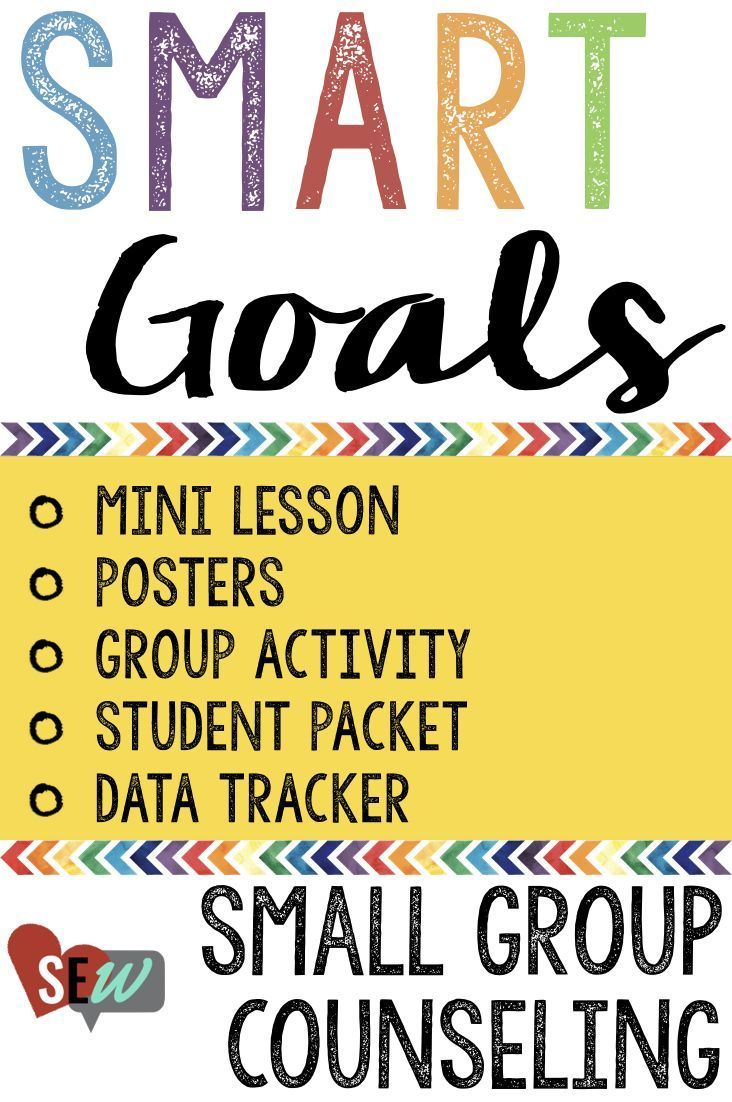 This is a small group counseling lesson to help students learn about setting SMART goals. This is a a great way to begin any small group that you are running. SMART goals help students focus on the topic of the group, open up about what they want to improve or change, and over time feel a sense of accomplishment for making changes. Social Emotional Workshop