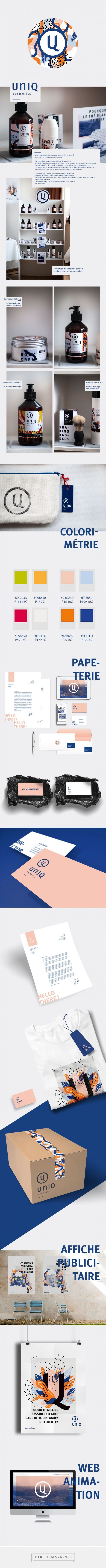 UNIQ Cosmetics Branding and Packaging by Adele Peers | Fivestar Branding Agency – Design and Branding Agency & Curated Inspiration Gallery