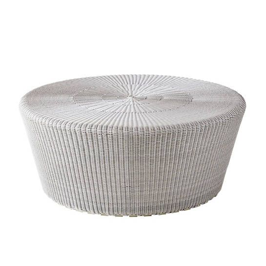 White/Grey Kingston Large Footstool  $906.00