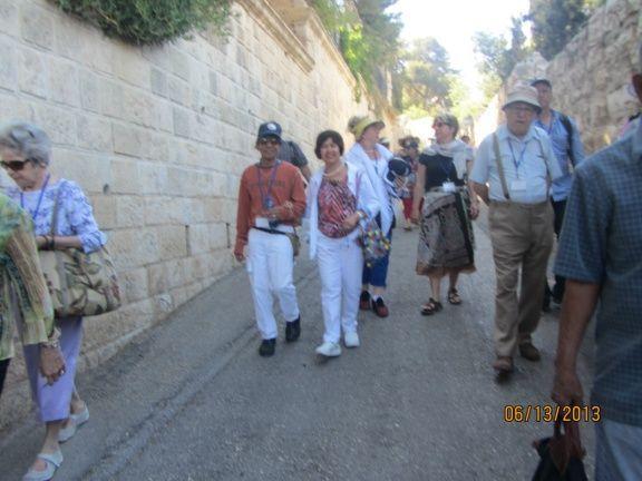 Holy Land -  Palm Sunday Road