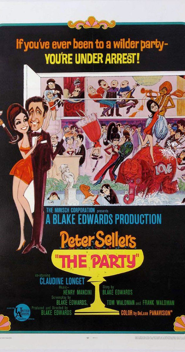 Directed by Blake Edwards.  With Peter Sellers, Claudine Longet, Natalia…