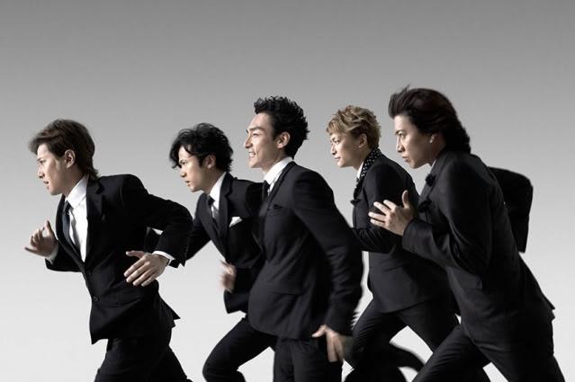 "SMAP in Softbank's ""Keep Running"""