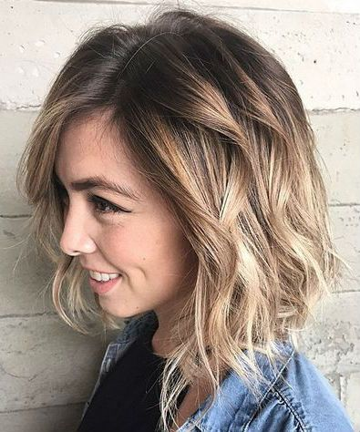 Alluring Shoulder Length Bob Hairstyles 2019 for Women to Consider This Year