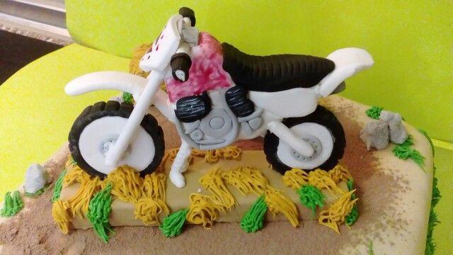 Motocross en fondant