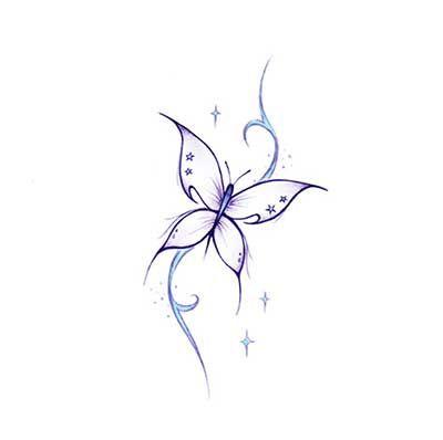 desenho azul