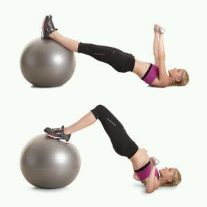 Stability Ball Hamstring Curl T Nation: Hamstring Curl On Ball